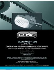 Genie Silentmax 1000 3042 Manuals