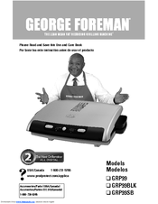 george foreman grp99sb the next grilleration use and care manual pdf rh manualslib com