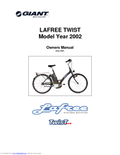Giant 2002 LAFREE TWIST Owner's Manual