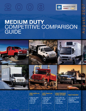 GMC T6500 2008 Competitive Comparison Manual