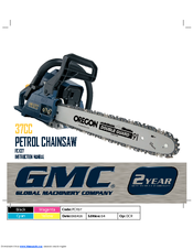 Global Machinery Company PCH37 Instruction Manual