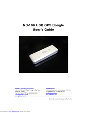GLOBALSAT ND-100S USB GPS DONGLE DRIVER DOWNLOAD