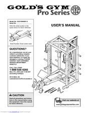 Gold S Gym Pro Series Manuals Manualslib