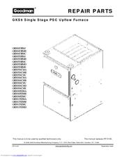 Goodman Mfg GKS90703BXAA Repair Parts