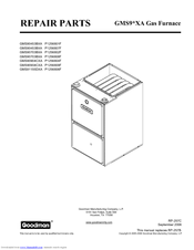 goodman gms90703bxa manuals rh manualslib com Goodman ARUF Air-Handler Wiring Diagrams Furnace Model Goodman ARUF Air-Handler Wiring Diagrams Furnace Model