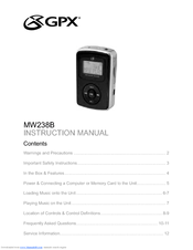 GPX MW3847 DRIVER WINDOWS 7 (2019)