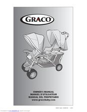 graco 6l06bwd3 duoglider lx double stroller manuals rh manualslib com graco stroller manual instructions graco jogging stroller manual