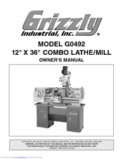 Grizzly G0492 Owner's Manual