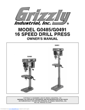 grizzly g0485 manuals rh manualslib com