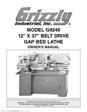 Grizzly G9249 Owner's Manual