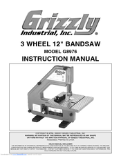 Grizzly G8976 Manuals