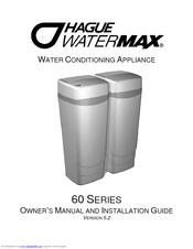 hague quality water watermax 60 series owner s installation manual rh manualslib com hague watermax instructions hague watermax ro manual