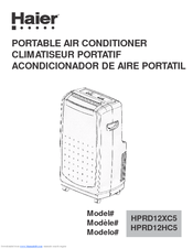 haier hprd12xh5 portable air conditioner manuals rh manualslib com haier user manual hcw225laes haier user guide