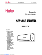 HAIER HSU18VH7 SERVICE MANUAL Pdf Download. on evcon heat pump wiring diagrams, haier heat pump parts, rheem manuals wiring diagrams, amana heat pump wiring diagrams,