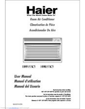 haier hwf05xc6 5 200 btu room air conditioner manuals rh manualslib com owners manual for haier room air conditioner haier hwr06xcr 6000 btu room air conditioner manual