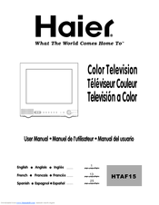 Haier HTAF15 User Manual