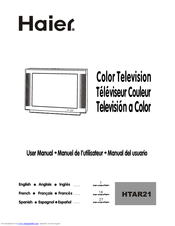 Haier HTAF21B User Manual