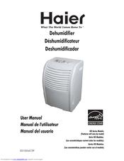 haier dehumidifier user manual pdf download rh manualslib com Haier Dehumidifier HD456E Haier DE65EK 45 Pint Dehumidifier