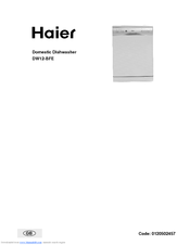Haier DW12-BFE ME Owner's Manual