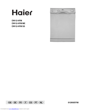 Haier DW12-HFM SS User Manual