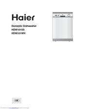 haier hdw101wh manuals rh manualslib com Haier Dishwasher Troubleshooting Haier 18 Inch Dishwasher