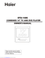 Haier DTA-1486 Owner's Manual