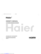 Haier HDMI LE24K300 User Manual