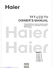 Haier HL26B Owner's Manual