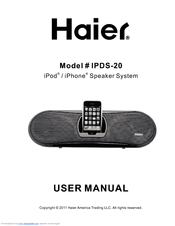 Haier IPDS-20 User Manual