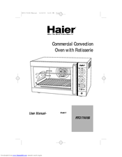 Haier RTC1700SS - Convection Oven User Manual