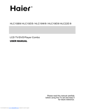 Haier HLC15B User Manual