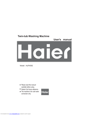 Haier HLP455E User Manual