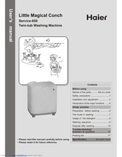 Haier 650 User Manual