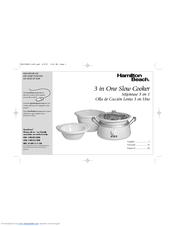 slow cooker instructions manual