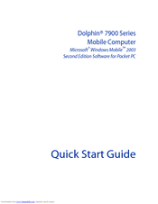Hand Held Products Dolphin 7900 Quick Start Manual
