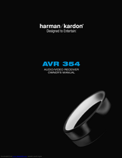 HARMAN-KARDON AVR 354 OWNER'S MANUAL Pdf Download.