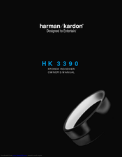 harman kardon hk 3390 owner s manual pdf download rh manualslib com harman kardon hk 3390 manuel harman kardon hk 3390 manuel