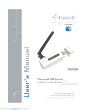 HAWKING WIRELESS-G HWUG1 DRIVER DOWNLOAD