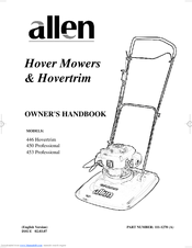 Allen 450 professional manuals.
