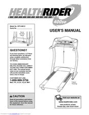 Healthrider 500 sel treadmill manual downloads.