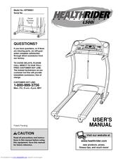 Healthrider s500sel/500sel manual.