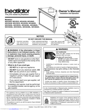 Heatilator Gas Fireplace NDV4236IL Pdf User Manuals. View online or download Heatilator Gas Fireplace NDV4236IL Owner