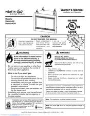 heat n glo fireplace manual