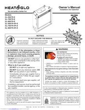 Heat & Glo SL-750TR-IPI-E Owner's Manual