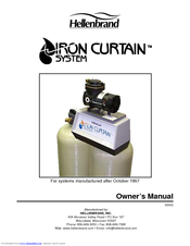 Hellenbrand Iron Curtain System Owner S Manual Pdf Download