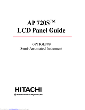 Hitachi OPTIGEN AP 720STM User Manual