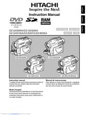 hitachi dz bx35a camcorder manuals rh manualslib com hitachi dvd camcorder manual hitachi dvd camcorder manual