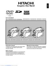 hitachi dz gx5020a manuals rh manualslib com hitachi mini dvd camcorder manual hitachi mini dvd camcorder manual