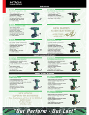 Hitachi CR18DMR(HC) Catalog