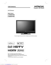 hitachi l42x01au manuals rh manualslib com Hitachi TV Service Manual Sony STR De475 Manual